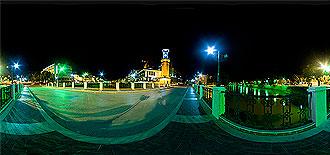 Amasya Saat Kulesi Gece