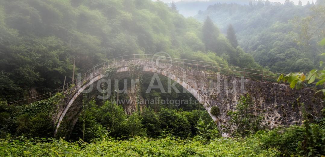 Çinçiva Köprüsü ve Sis