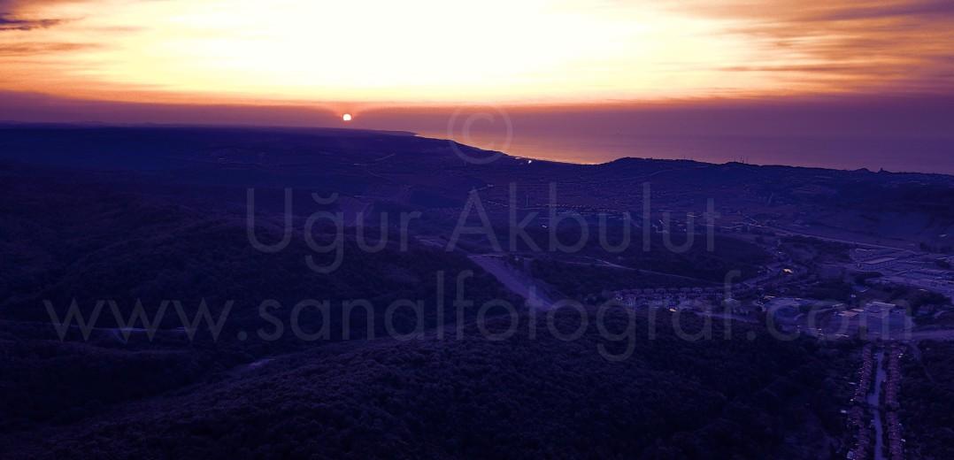 Şile Mor Günbatımı
